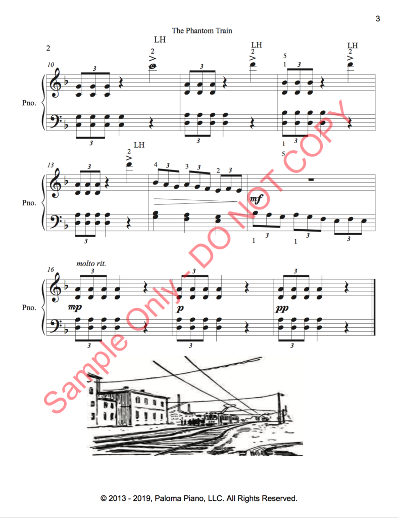 Paloma Piano - Phantom Train - Page 2