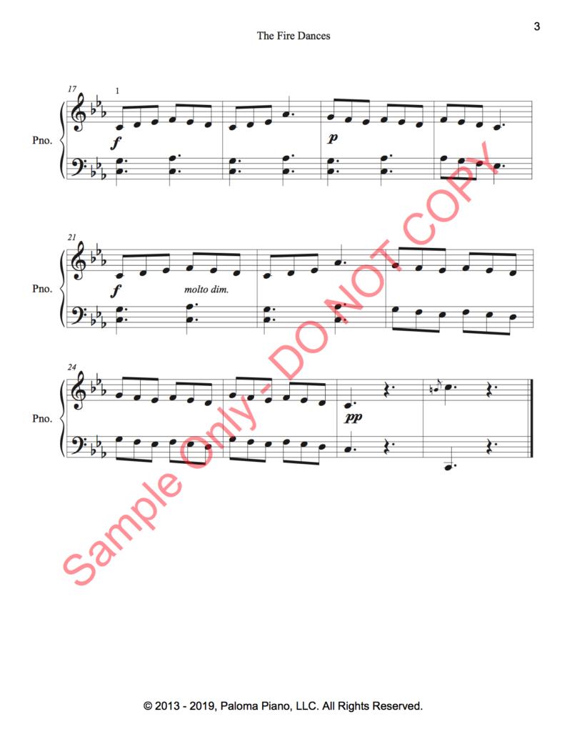 Paloma Piano - The Fire Dances - Page 2