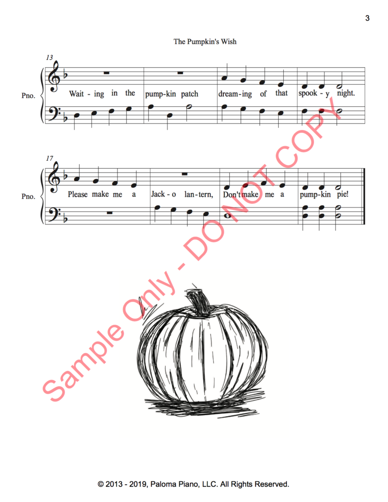 Paloma Piano - The Pumpkin's Wish - Page 2