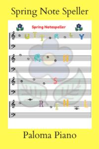 Spring Note Speller
