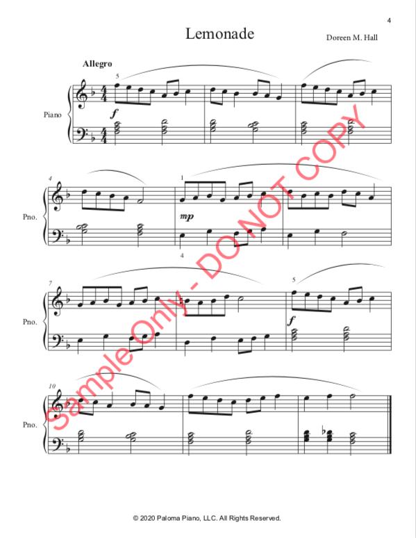 Paloma Piano - At the Carnival - Page 4
