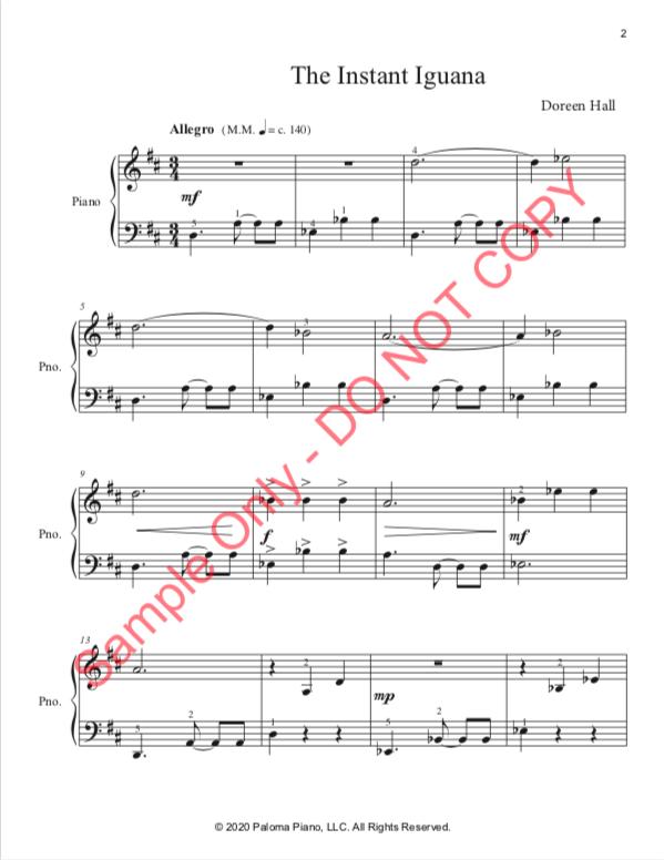 Paloma Piano - The Instant Iguana - Page 2