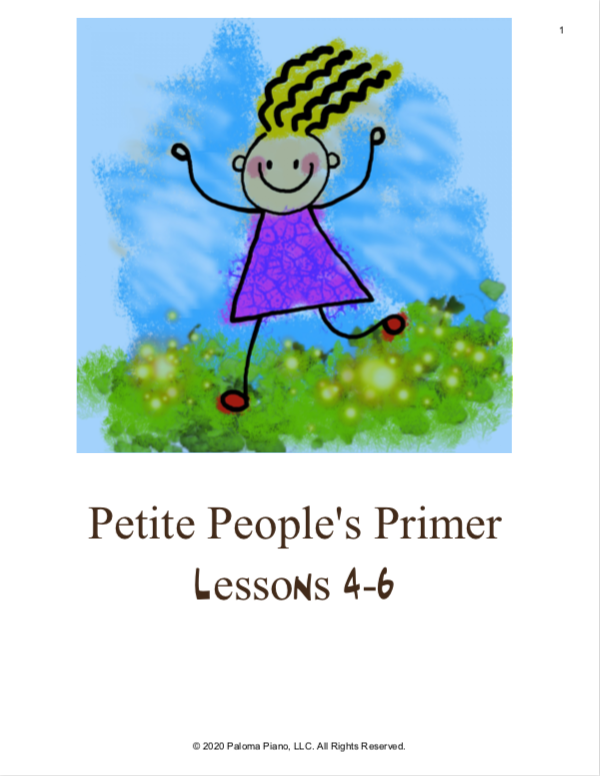 Paloma Piano - Petite People's Primer Lessons 4, 5 and 6 - Page 1