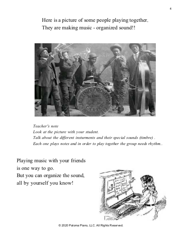 Paloma Piano - Petite People's Primer Lessons 4, 5 and 6 - Page 4