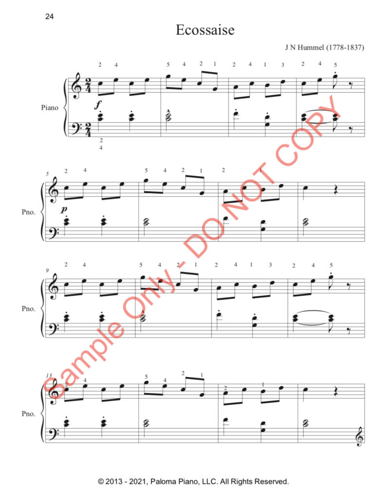 Paloma Piano - First Classics Collection - Page 24