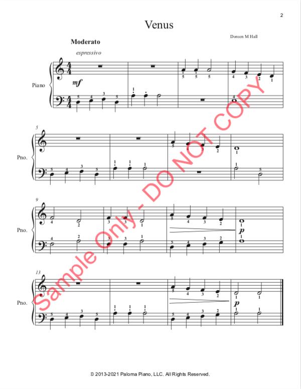 Paloma Piano - Venus - Page 2