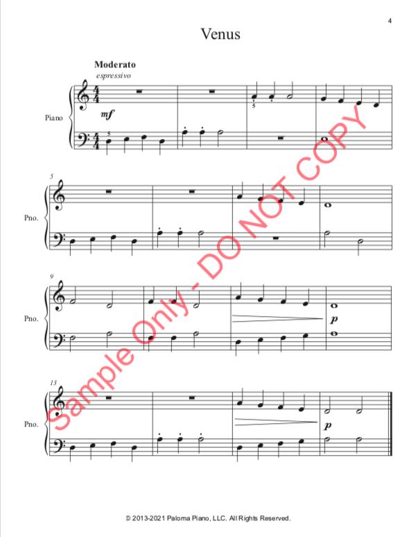 Paloma Piano - Venus - Page 4
