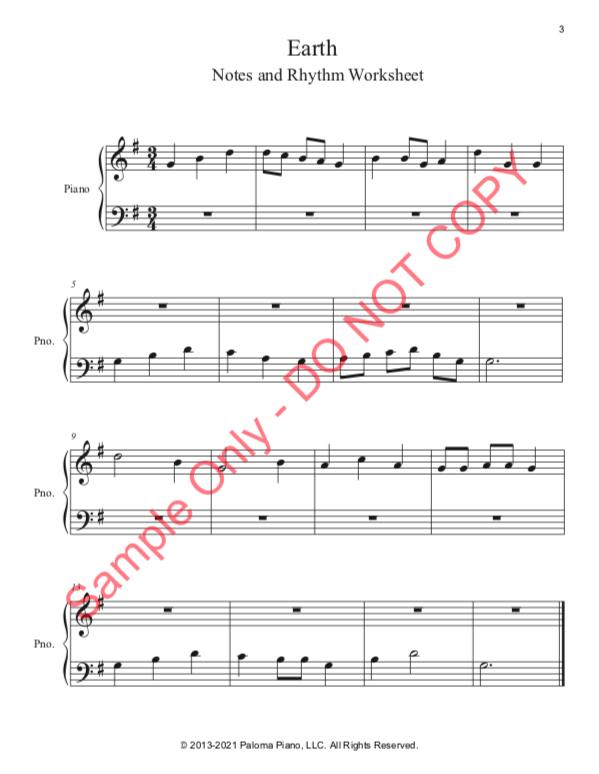 Paloma Piano - Earth - Page 3