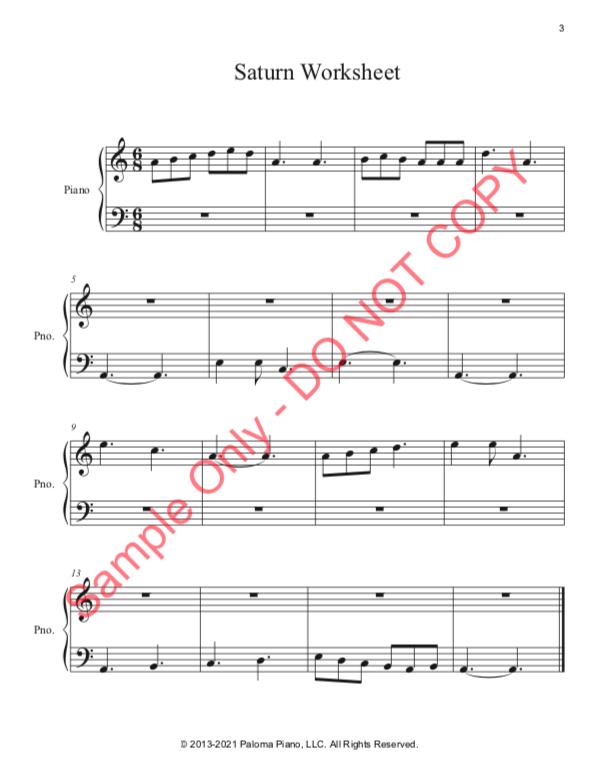 Paloma Piano - Saturn - Page 3