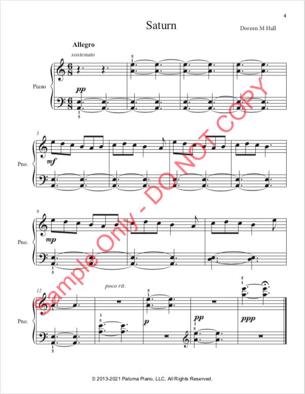 Paloma Piano - Saturn - Page 4