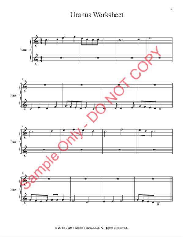 Paloma Piano - Uranus - Page 3