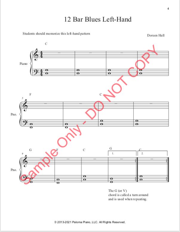 Paloma Piano - Blues Level One - Page 4