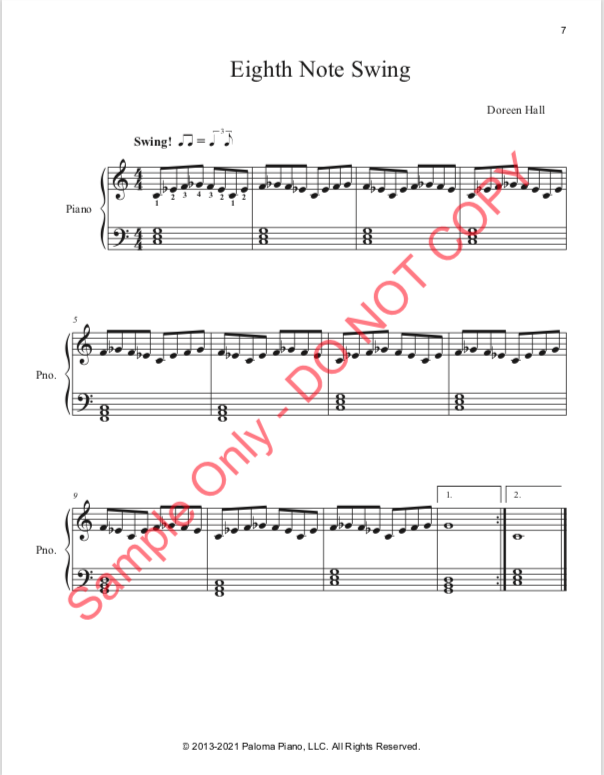 Paloma Piano - Blues Level One - Page 7