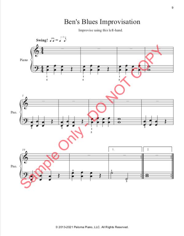 Paloma Piano - Blues Level One - Page 9