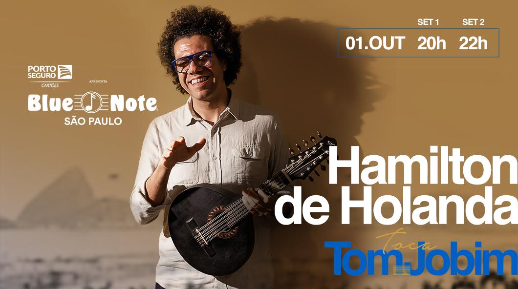 Hamilton de Holanda toca Tom Jobim