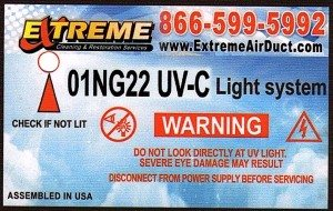 Extreme Services 01NG22 UV System