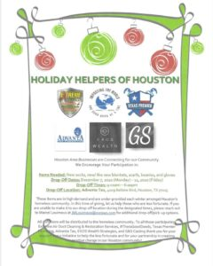 Holiday helpers of Houston