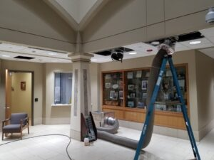 Extreme Commercial duct cleaning
