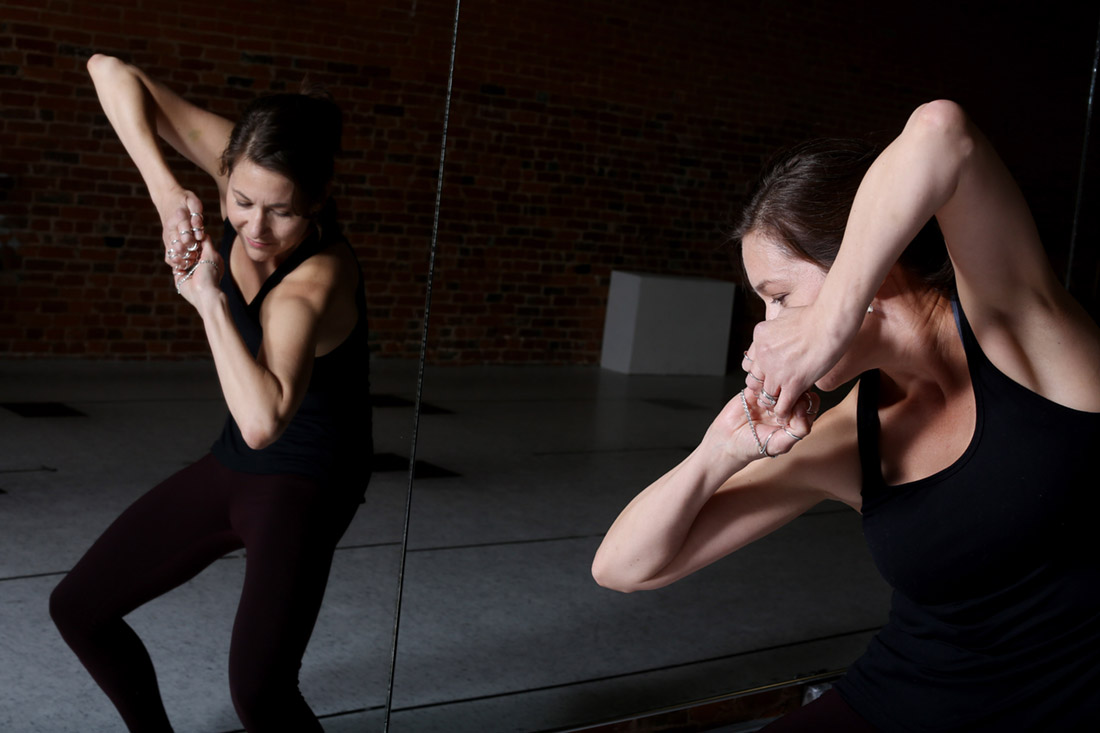 Lea Burke, Burlington, Iowa's first certified Essentrics instructor, Monday Nov. 21, 2016 at Cheryl's School of Dance studio space in downtown Burlington. Essentrics strengthens, slenderizes, tones and rebalances the muscles; increases flexibility and range of motion of the joints, relieves chronic pain and improves posture and bone health.