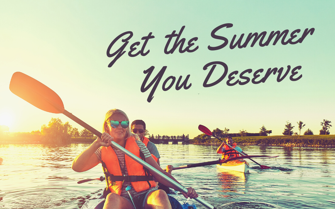 Get the summer you deserve (and desperately need) How you can get your partner to take the reins so you can get a break.