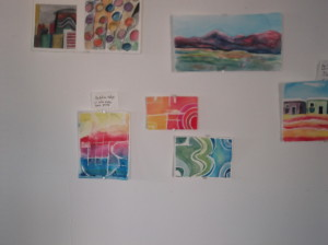 Hot days=cool times in Studio: Works from Starry Night Program