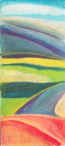 "Rolling Hills Soft Pastel 19X27"""