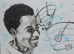Student Symbols of Self Portrait