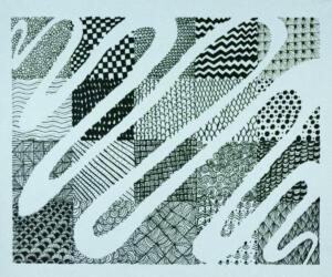 Line and Shape, 5X5, Design