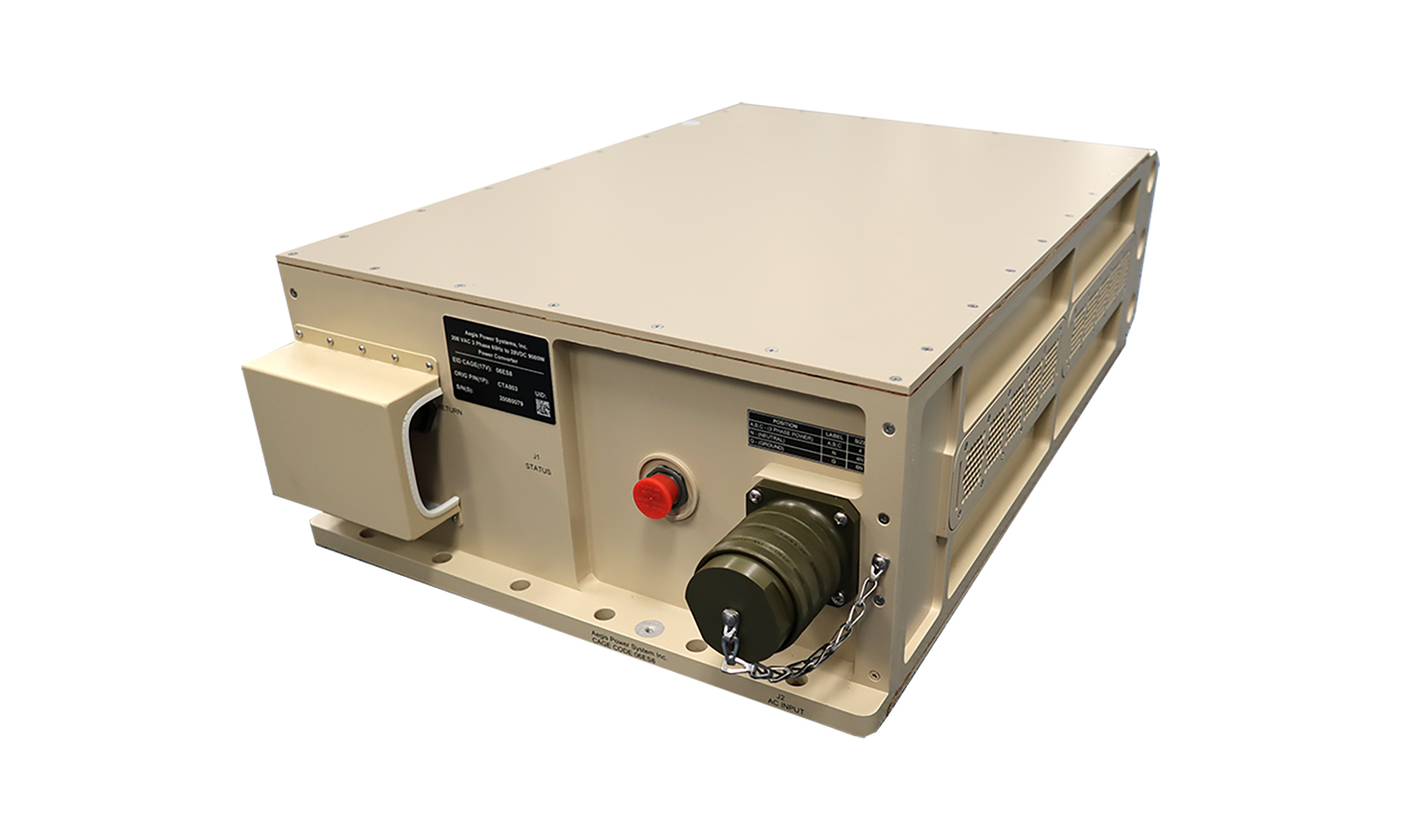 Rugged Military Power Supply - AC-DC