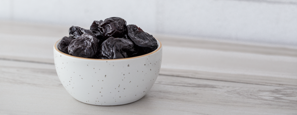 Bowl with Prunes