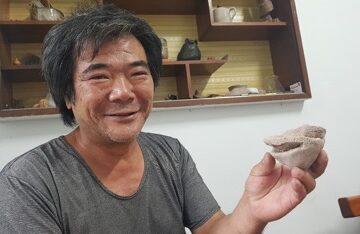 臺灣工藝獎得主陳炳廷 移居東勢八年屢有佳作