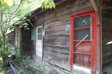 開發八仙山林場的遺跡-榮民寮