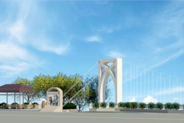 和平白鹿景觀吊橋 預定月底完工啟用