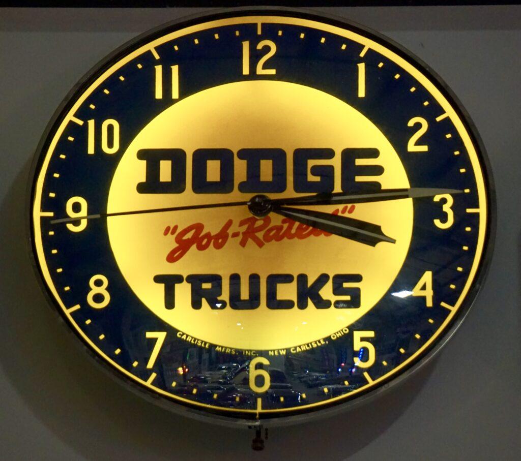 Dodge Clock