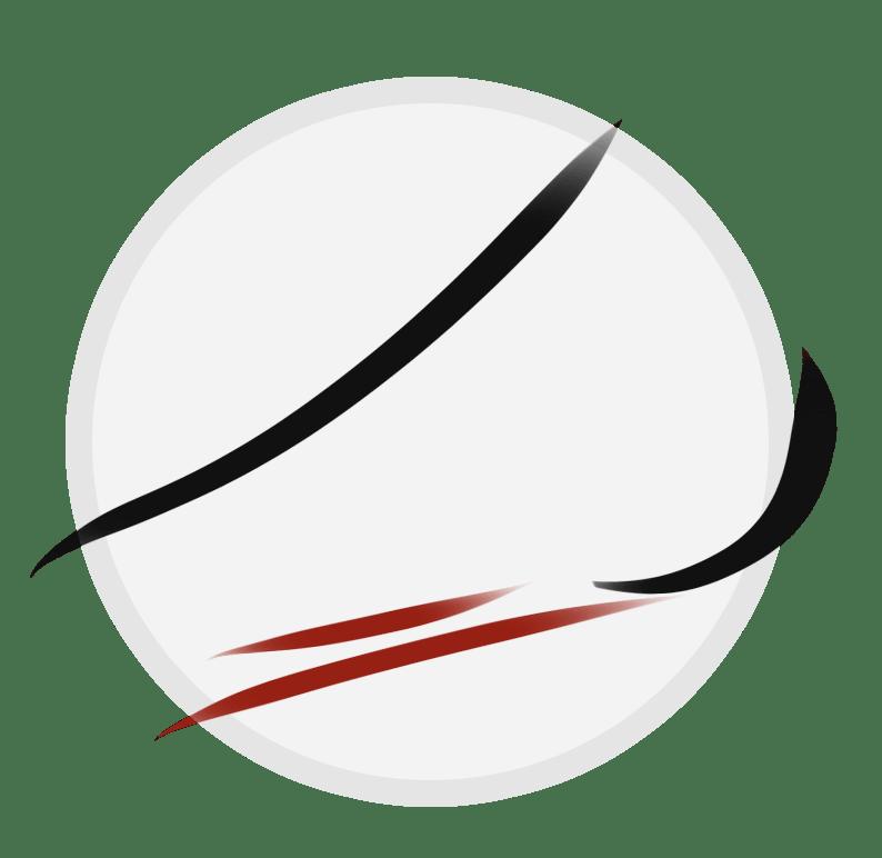 Flat foot icon