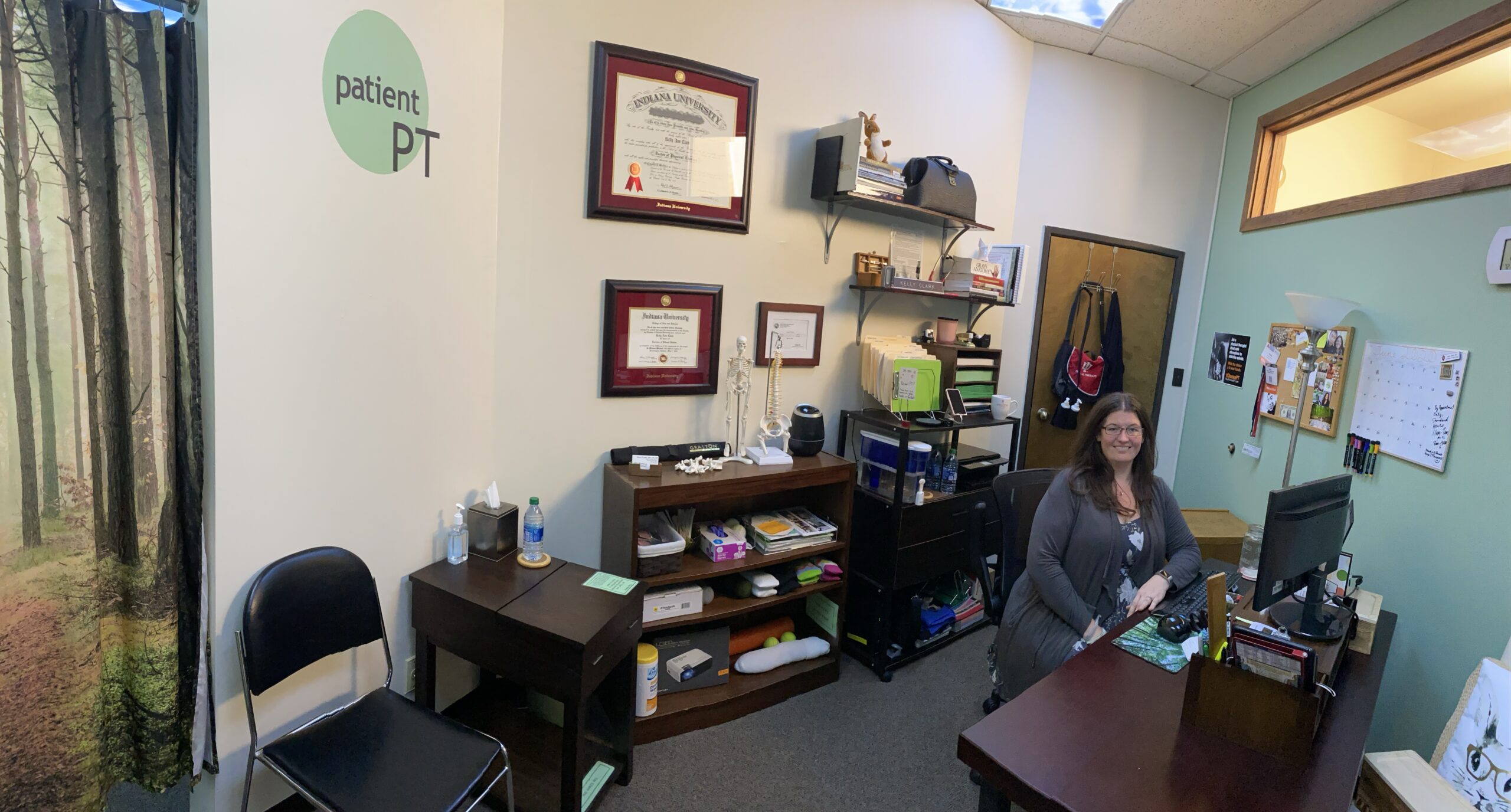 Patient PT front office, May 31 2020