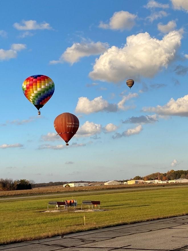 Hometown Hero Balloon Launch