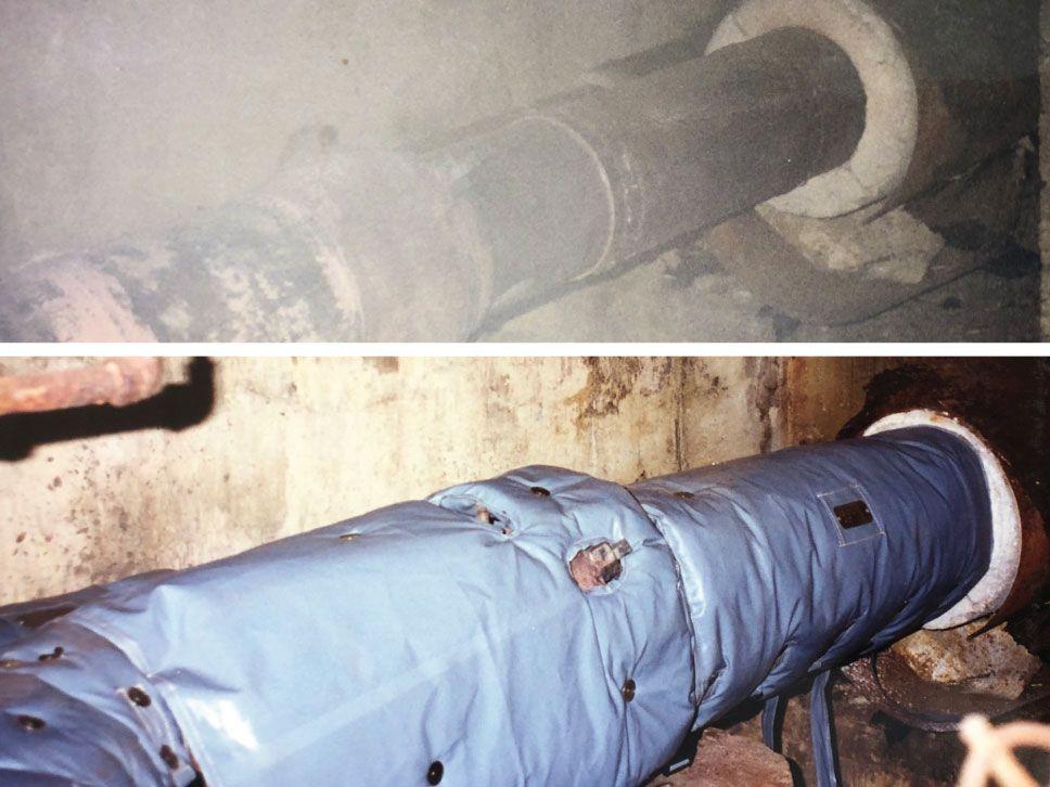 Hydrophobic Blanket Insulation