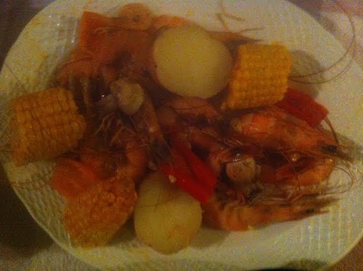 boiled shrimp pic