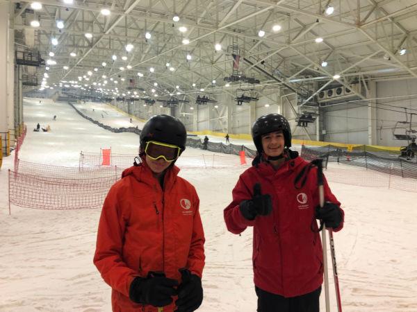 Skiing Indoors