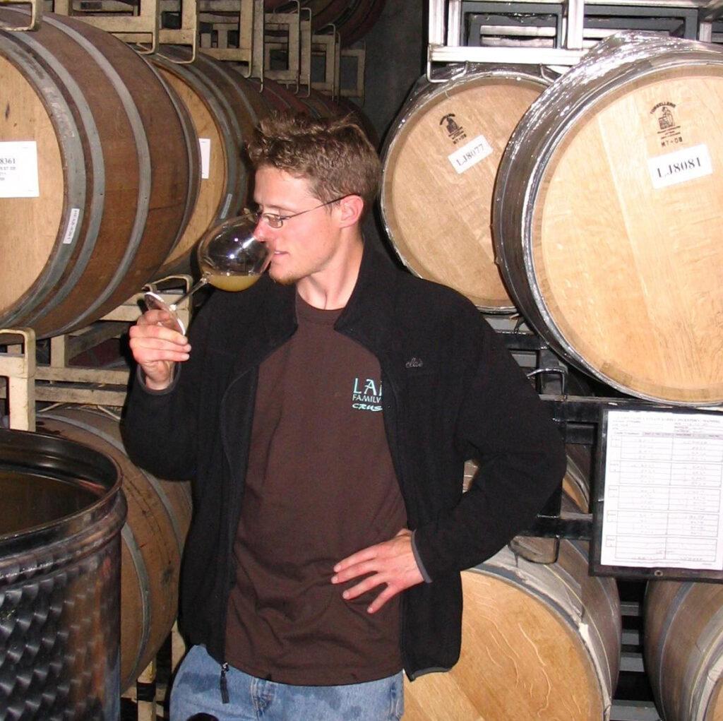 Winemaker Robert Schermeister