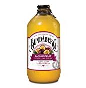 BUNDABERG PASSIONFRUIT SPARKLING DRINK 12X37 ML【172积分】