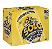 Solo Lemon Soft Drink, 30 x 375ml 【175积分】