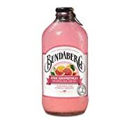 BUNDABERG PINK GRAPEFRUIT SPARKLING DRINK, 12 X 37ML【189积分】
