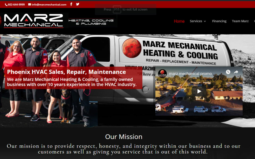 Marz Launches New Site