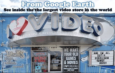 See inside the Largest Video Store in the world