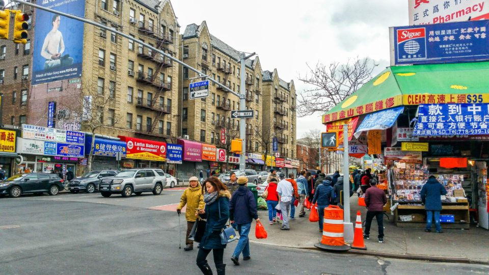 Main Street - heart of Chinatown, Flushing