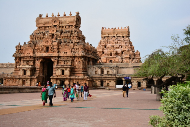 Big Temple with its Towers