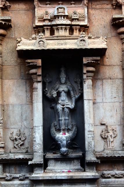 Vishnu Durga on the walls of Subramanya shrine