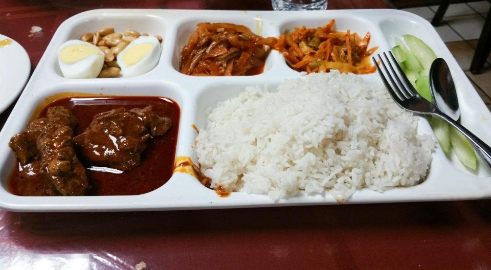Nasi Lemak - Another popular Malaysian dish